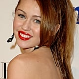 Miley Cyrus at the Teen Vogue Young Hollywood Party in September 2007