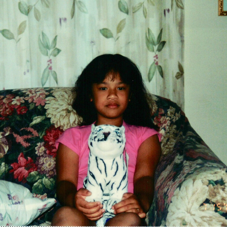 Assistant Beauty Editor, Jesa Calaor, as a pre-teen.