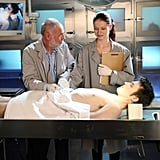 Robert David Hall helped Kayla out when she was unable to remember her line.  Photo courtesy of The CW