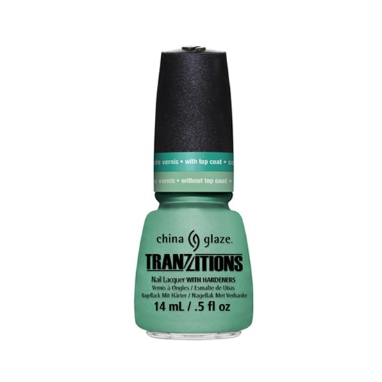 Consider China Glaze Tranzitions in Duplicity ($9) two shades in one. Without a top coat, you have a nice ocean green, but layer on the top coat and you get a bluish turquoise.