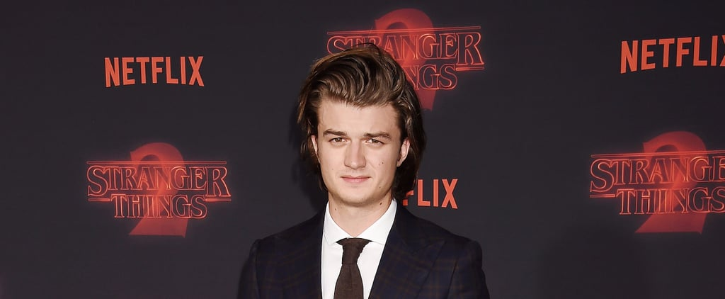 Joe Keery's Famous Hair Is Proof You Should Shampoo Way Less Often