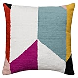 Threshold Color Block Throw Pillow
