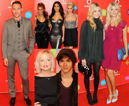 Photos and Winners From 2008 Vodafone Live Music Awards Featuring Emma Bunton, Kelly Rowland, Estelle, Fearne Cotton and more