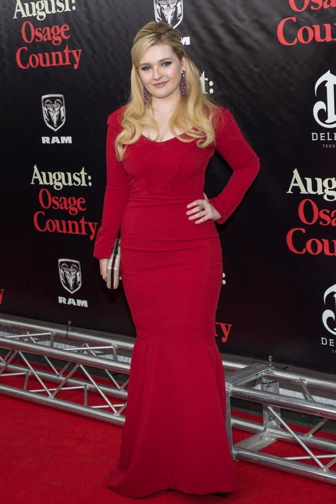 Abigail Breslin looked all grown up on the red carpet.