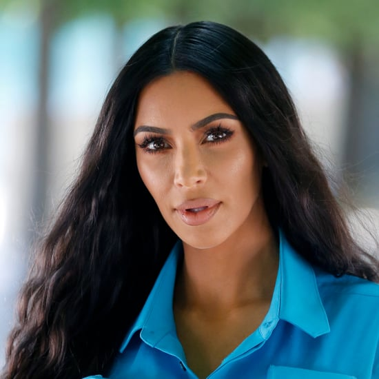 Kim Kardashian Explains North West's Straight Hair