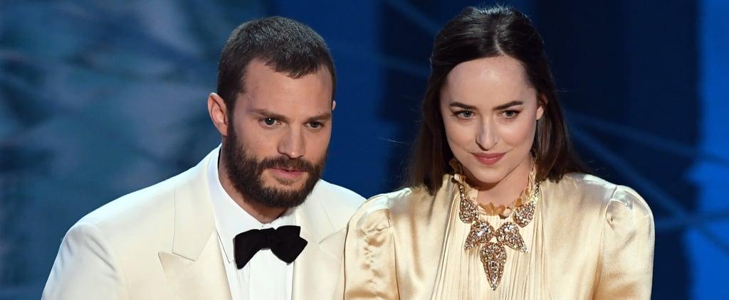 Jamie Dornan and Dakota Johnson's Oscars Encounter Might Make You Cringe a Little