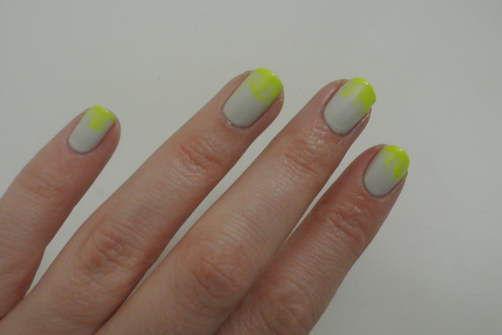 DIY Manicure and Nail Art: Neon Ombre Nails Using Miss Shop Nail ...