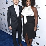 Pictured: Uzo Aduba and Rami Malek