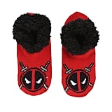 MARVEL DEADPOOL KNIT SLIPPERS ($15)