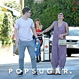 Halsey and Evan Peters Showing PDA on a Beach Date in LA