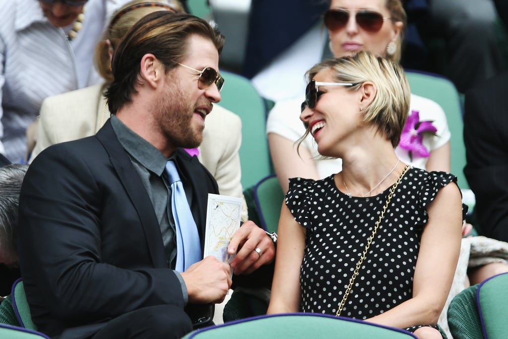 Cute Pictures Of Chris Hemsworth And Elsa
