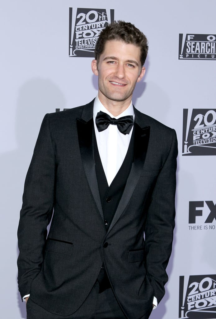 Matthew Morrison of Glee went to the Fox party.