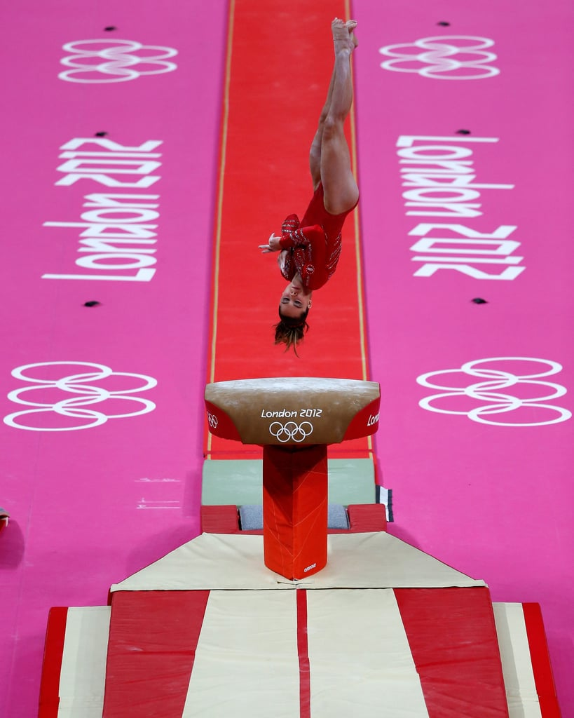 If a perfect 10 were still possible, then you can bet McKayla Maroney would have received it for her vault during the team event.
