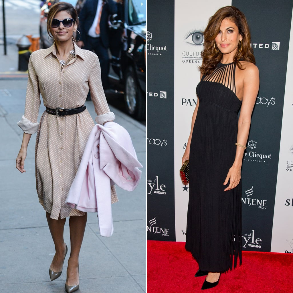 Eva Mendes Day-to-Night Fashion   Get the Look