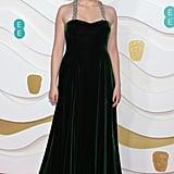 Greta Gerwig at the 2020 BAFTAs in London