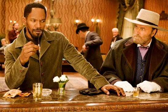 Jamie Foxx and Franco Nero in Django Unchained. Photos courtesy of The Weinstein Co.