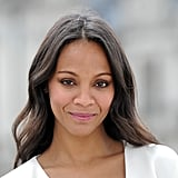 """I am proud to be Latina. I will not accept [anyone] telling me that I'm less or whatever, because to me, that is just hysterical."" — Zoe Saldana to Glam Belleza Latina in 2013"