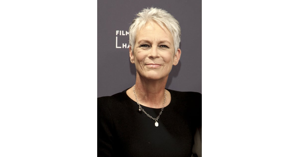 Jamie Lee Curtis Celebrities Who Dont Dye Their Hair Popsugar