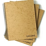 Unruled Notebook