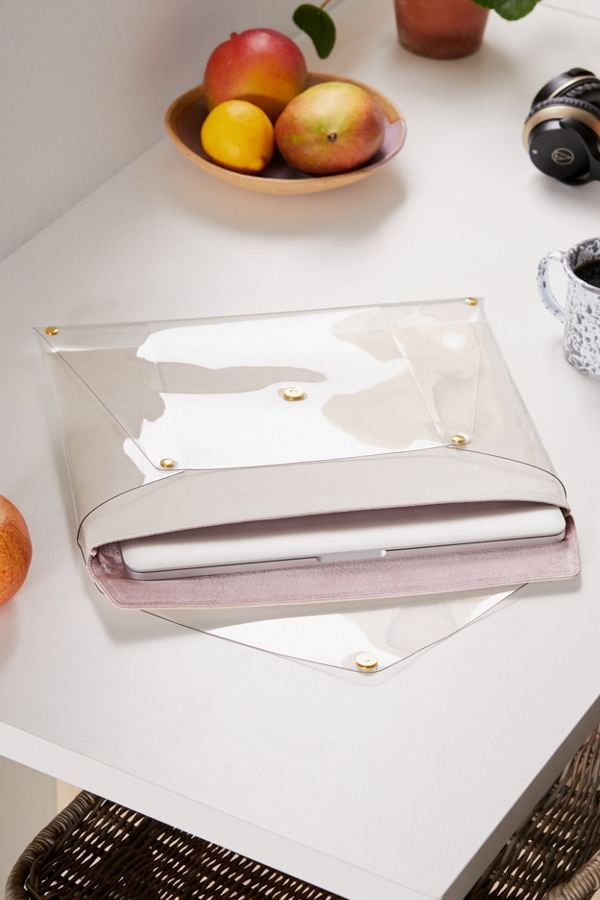 Sonix Transparent Laptop Clutch Case