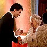 When She Meets Justin Trudeau, Obviously