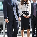Prince William and his wife Kate Middleton.