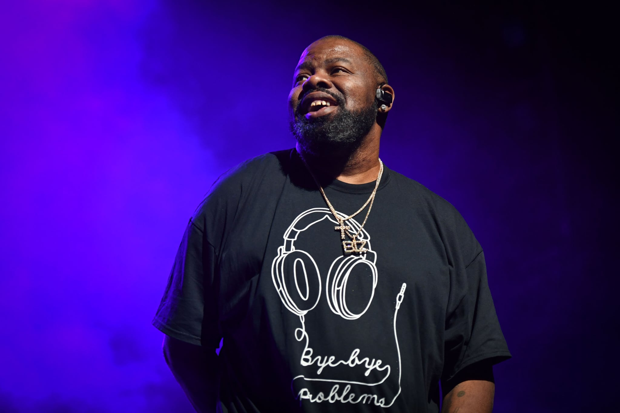 NEW YORK, NY - OCTOBER 27:  Biz Markie co-host Breakin Convention at The Apollo Theatre on October 27, 2017 in New York City.  (Photo by Shahar Azran/WireImage)