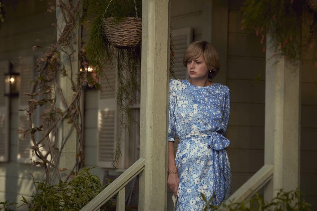 Princess Diana's Blue Dress on The Crown