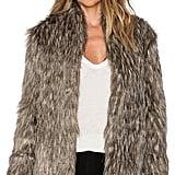 Lovers + Friends Selena Faux Fur Coat ($268)