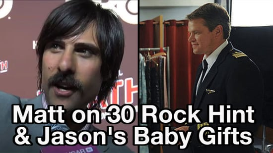 Video of Stars Talking About Matt Damon on 30 Rock and Jason Schwartzman's Baby