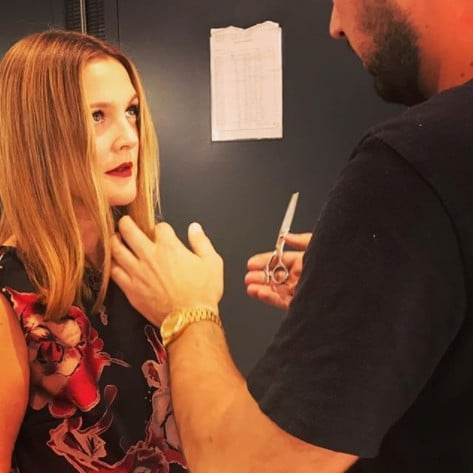 Drew Barrymore Gets Haircut After Instagram Bullying