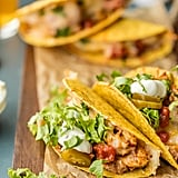 Baked Spicy Chicken Tacos