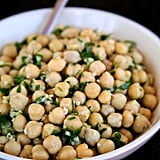 Lemon Ginger Marinated Chickpeas
