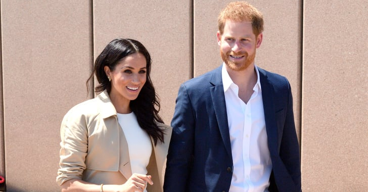 Prince Harry Is Totally Beaming While Talking About Having a Baby With Meghan Ma...