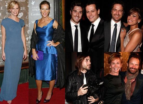 Photos of Gerard Butler, Jared Leto, Sarah Jane Morris, Rachel Griffiths, Eva Mendes and Sting at the Art of Elysium Gala