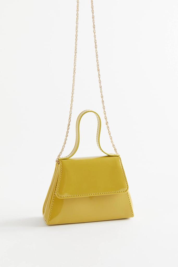 Urban Outfitter Super Mini Trapezoid Crossbody Bag