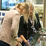Cameron Diaz and Gwyneth Paltrow discussed their lunch orders.