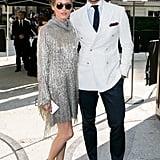 Olivia on Her Husband Johannes Huebl's Fashion Sense