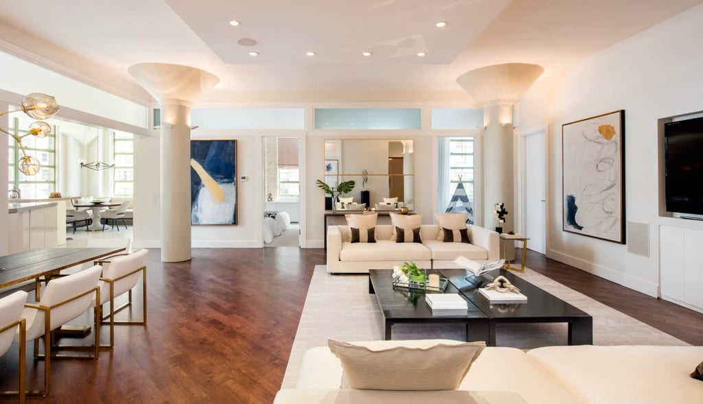 Bethenny frankel lists her tribeca apartment popsugar home for Apartments in tribeca nyc