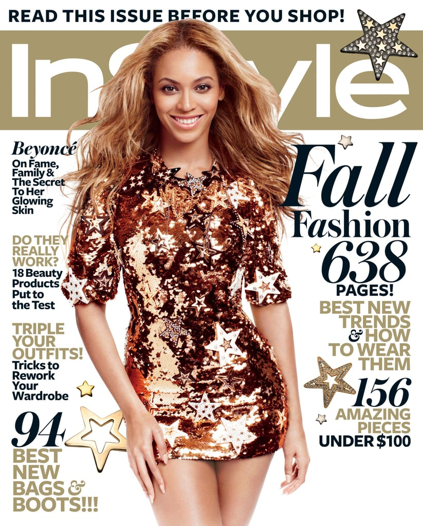 September 2011: Beyonce Knowles Talks Marriage In September 2011 InStyle