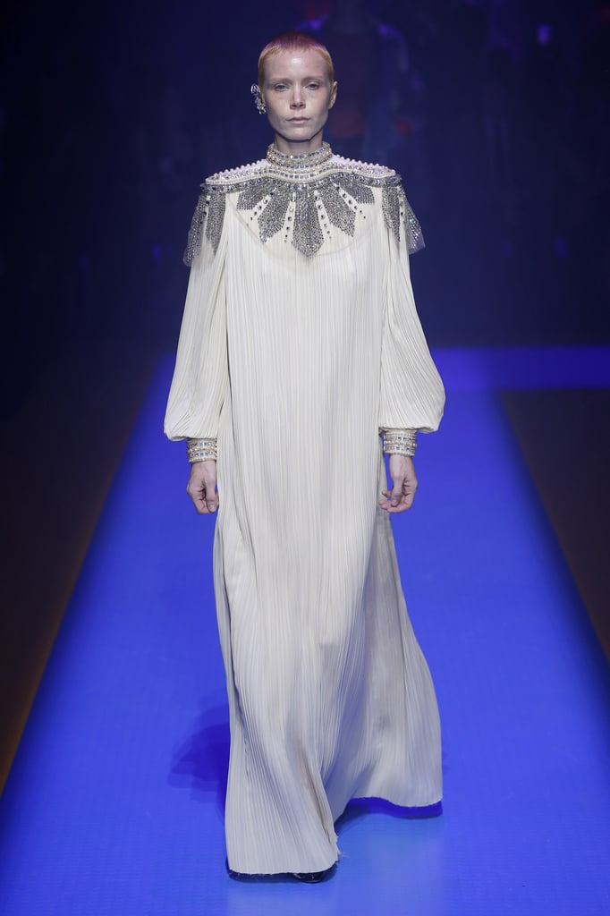 How magical would it be to see Kate in this embellished white Gucci gown at a formal event?