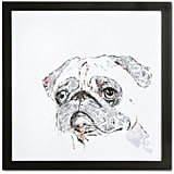 Pug Wall Art ($72)