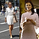 Add a Belt to Make an Eyelet Dress Look Polished