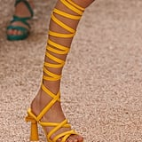 The Footwear of Choice Was Grecian Style Heels