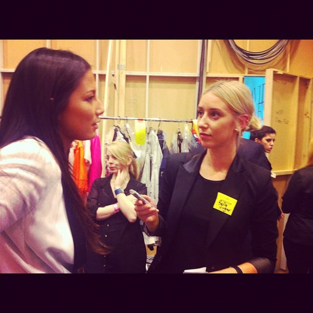 Bella editor Alison interviewed the completely divine Jessica Gomes at David Jones.