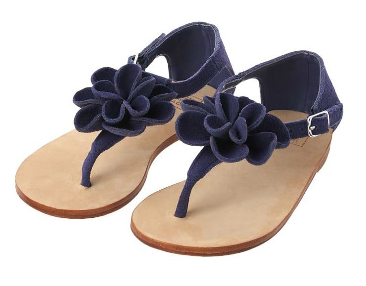 Janie and Jack Rosette Suede Sandals ($44)