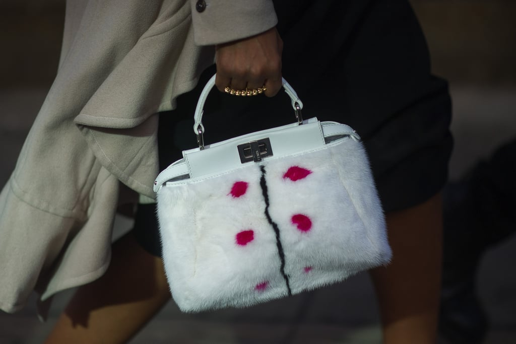 This fur-covered Fendi makes the most luxurious kind of carry-all.