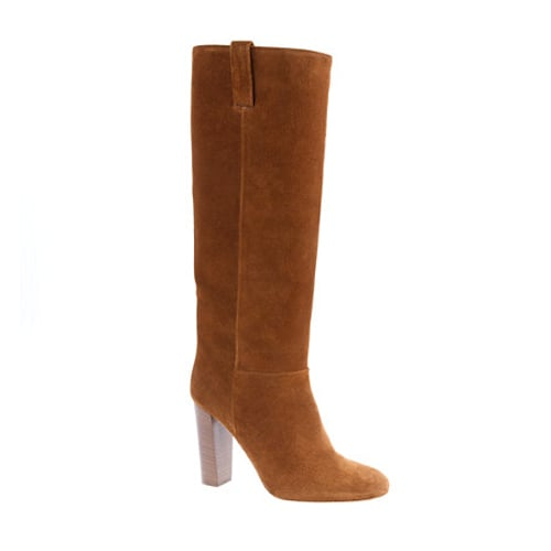 J.Crew's Bryce High-Heel Boots ($240, originally $348) are a classic Winter must have.