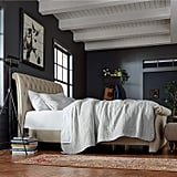 Stone & Beam Chanton Tufted Upholstered Queen Sleigh Bed