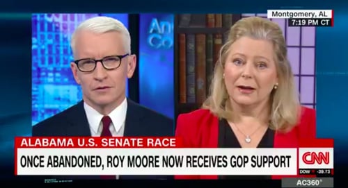 Anderson Cooper speaks with Roy Moore spokesperson, Janet Porter